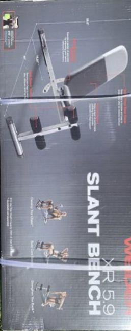 Weider CR 5.9 Slant Adjustable Bench for Sale in Covina, CA