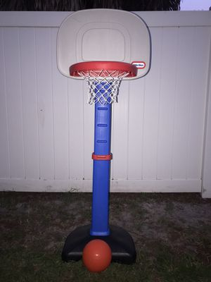 Little Tikes TotSports Easy Score Toy Basketball Set for Sale in St. Petersburg, FL