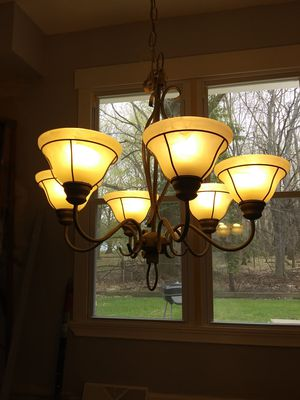 Chandelier $20. for Sale in MAYFIELD VILLAGE, OH