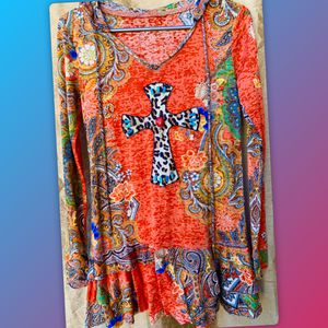 Cross Blouse size Small for Sale in Rosamond, CA