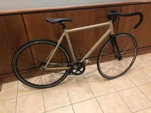 Carbon fiber and aluminum track fixie for Sale in Chicago, IL