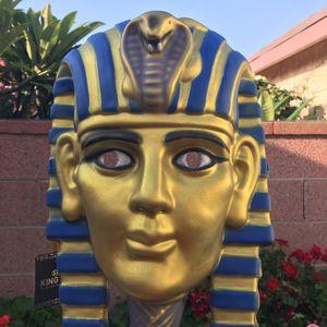 Kids Halloween King Tut Pharaoh Costume Mask Cosplay Pretend Play for Sale in Gardena, CA