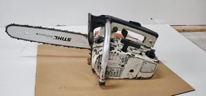 Stihl av 020 super top handle chainsaw. for Sale in Zimmerman, MN