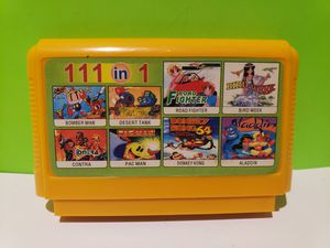 Nintendo Famicon Famiclone 111 in 1 Game Cartridge for Sale in Reinholds, PA