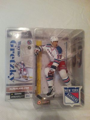 Wayne Gretzky New York Rangers McFarlane figure NIB NRMT to MT for Sale in Dallas, TX
