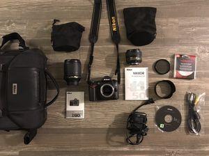 Nikon D90 12.3MP Digital Camera + VR for Sale in San Antonio, TX
