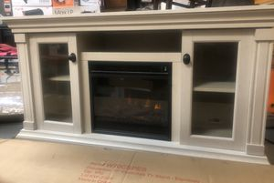 Classic Flame Rossville Electric Fireplace Media Console for Sale in Atlanta, GA