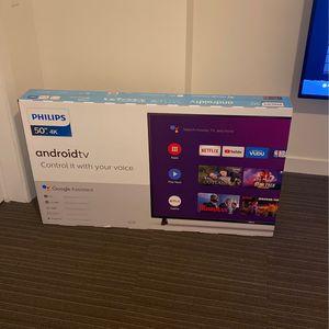 50 Inch Phillips Smart Tv for Sale in Newport News, VA