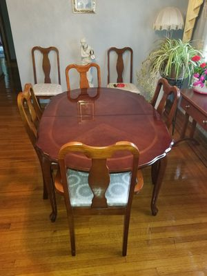 Solid Cherry Wood Dining Set for Sale in West Seneca, NY