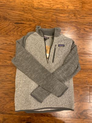 Patagonia Sweater Jacket Brand New - Extra Small for Sale in Oldsmar, FL