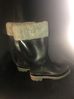 Women's rain boots sz 8 for Sale in Yukon, OK