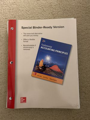 Santa Monica college ACCTG1 textbook for Sale in Los Angeles, CA