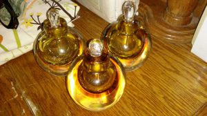 Heavy glass perfume bottles for Sale in St. Louis, MO
