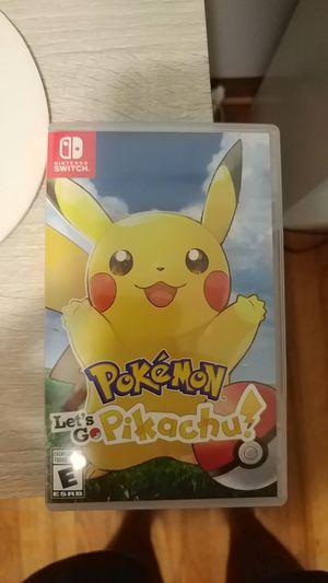 Pokémon let's go Pikachu for Sale in Tucker, GA