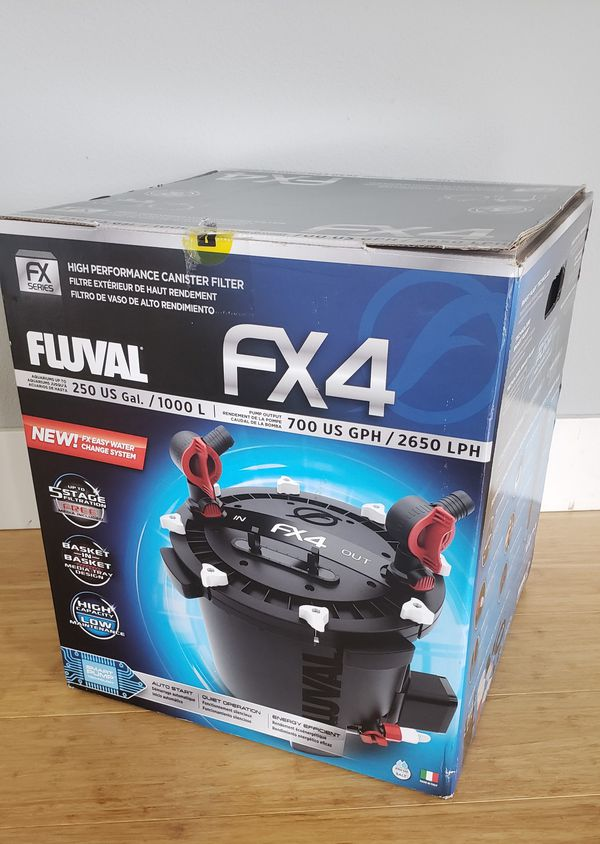 Fluval FX4 aquarium filter NIB