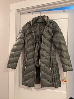 Michael Kors Coat - XS, light Sage for Sale in Tacoma, WA