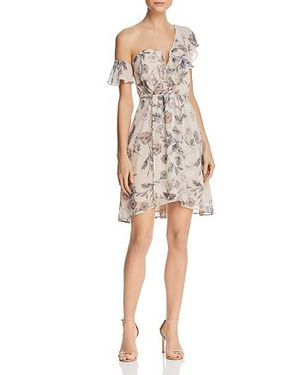ASTR THE LABEL Women's Libby Dusty Blush Floral Dress Size L for Sale in Wheaton, IL