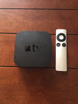 Apple TV With Remote & HDMI Cord & Ethernet for Sale in Phoenix, AZ