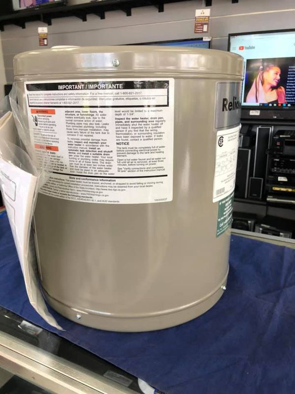 Reliance tank water heater 6-6SOMS 200K NEW