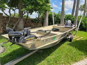 14' jon boat for Sale in Pembroke Pines, FL