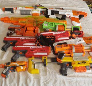 Nerf gun lot for Sale in Woodstock, GA