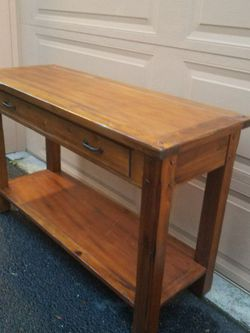 Solid Wood Kitchen Island With Storage Drawer ,Top Quality 18x48x30intoll for Sale in Everett,  WA