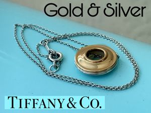BEST OFFER New Tiffany & Co. gold and silver necklace/pendant Paloma Picasso for Sale in Arlington, TX