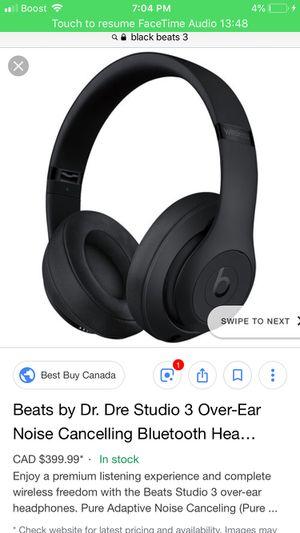 beats studio 3 for Sale in Roseville, MI