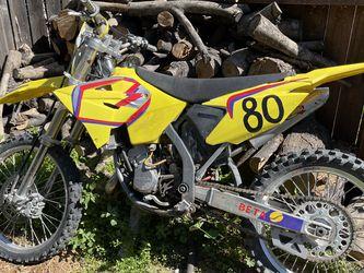 2002 Suzuki RM125 Dirt Bike for Sale in Los Angeles,  CA