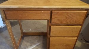 Wood Desk for Sale in Moreno Valley, CA