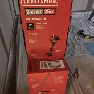 *NEW* CRAFTSMAN WS210, 2-Cycle, Straight Shaft Gas String TRIMMER/ EDGER for Sale in St. Petersburg, FL
