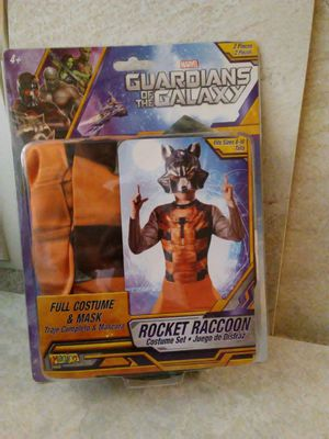 New kids costume Sz 8-10. Firm. Rocket Racoon. Deer vly 67th ave pikup for Sale in Glendale, AZ
