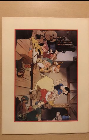 Disney's Snow White Exclusive Commemorative Lithograph- 1994 for Sale in Beaufort, SC