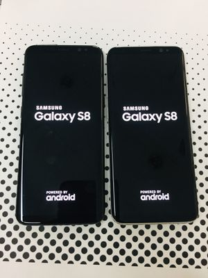 Samsung galaxy s8 64gb unlocked $265 each for Sale in Medford, MA
