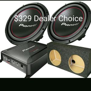Subwoofer Package installation not included for Sale in Orlando, FL