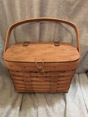1990 Longaberger fishing basket for Sale in Lilburn, GA