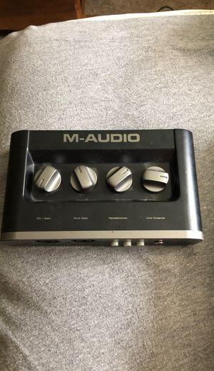 M-Audio interface pro , 10/10 condition for Sale in Chesapeake, VA