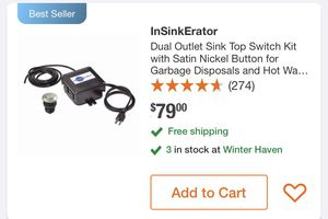 Sink Top switch kit for Sale in Davenport, FL