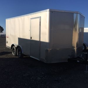 New 8.5x16 Enclosed Trailer for Sale in Beaumont, CA