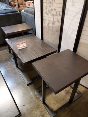 3 PC Coffee Table Set, Black for Sale in Fountain Valley, CA