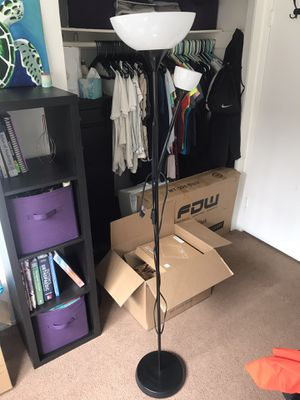IKEA standing lamp with reading light for Sale in Encinitas, CA