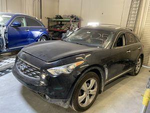 2012 Infiniti FX35 FX50 QX70 Parting Out Parts Car 09 10 11 12 13 14 15 for Sale in Rancho Cordova, CA