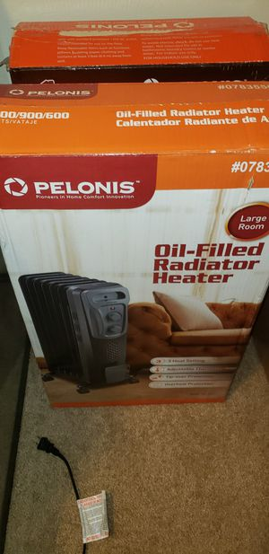 Two Pelonis space heater (GET IT NOW BEFORE THE PRICE GOES UP THIS WINTER!!!!) for Sale in Columbus, OH