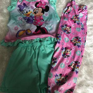 Minnie Mouse 3piece Pajamas Set for Sale in Oklahoma City, OK