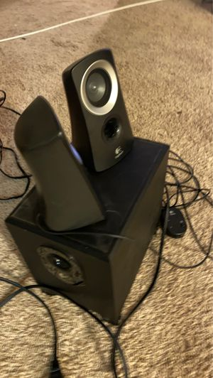 Logitech speakers and subwoofer for computer for Sale in Alexandria, VA