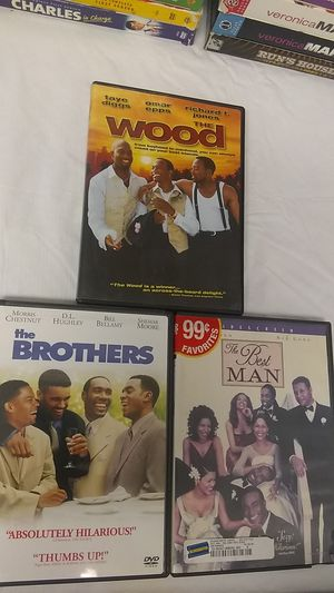 DVD's 3 Piece Set The Wood The Best Nan The Brothers for Sale in Santa Clarita, CA