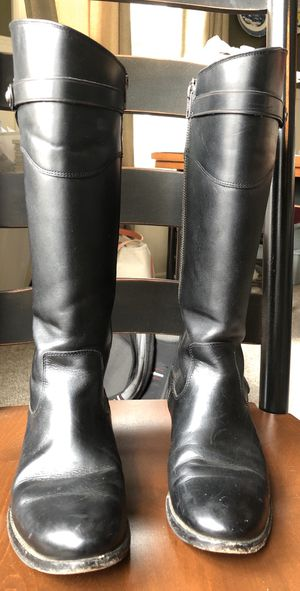 FRYE Molly Button Tall Boots 7.5 (Extended) for Sale in Fitchburg, MA