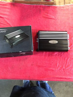 Used arc audio amp that just came back from arc audio for repair and new mods for Sale in Riverside, CA