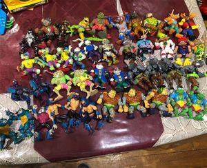 Vintage 90s 80s Toys ninja turtles, power rangers, gi joe for Sale in Silver Spring, MD