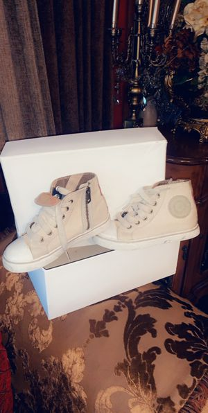 Kids Burberry shoes size 28 for Sale in Detroit, MI